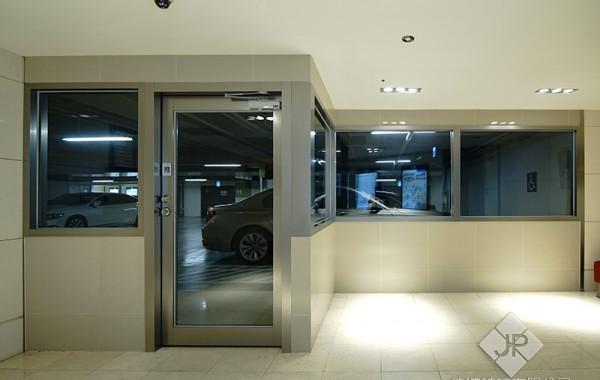 單扇防火玻璃門