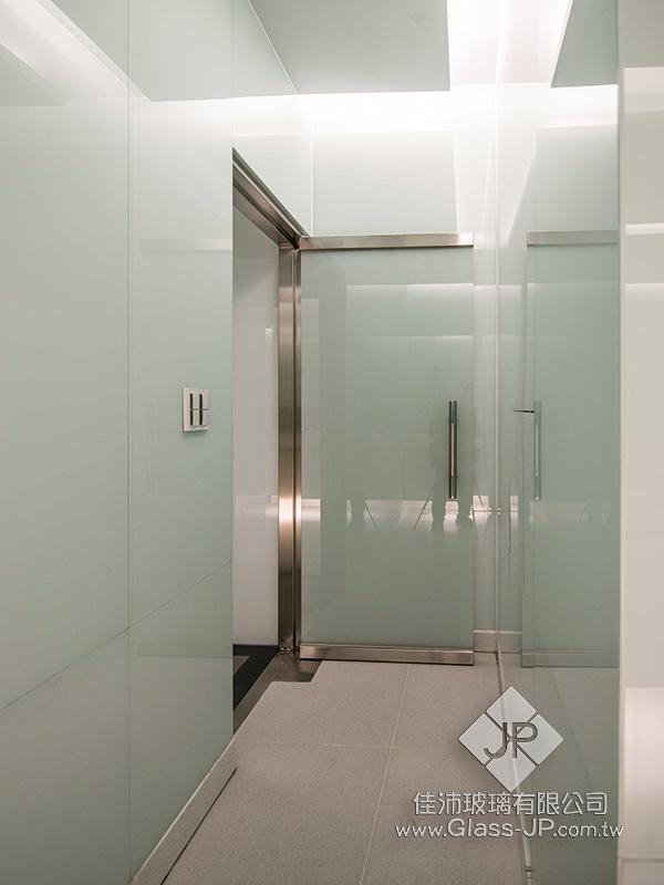 廁所門 5+5瓷白膜