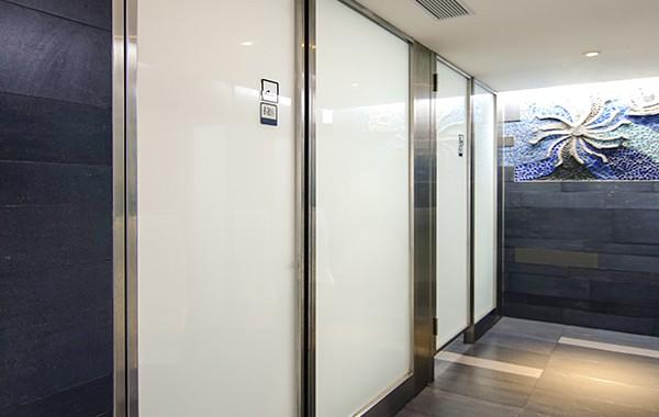 (廁所門) 5+5 瓷白膜